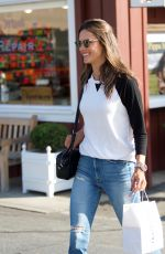 ALESSANDRA AMBROSIO Out and About in Brentwood 01/18/2018