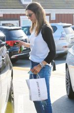 ALESSANDRA AMBROSIO Out Shopping in Brentwood 01/18/2018