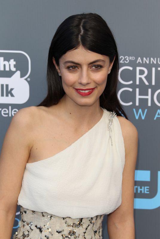 ALESSANDRA MASTRONARDI at 2018 Critics' Choice Awards in Santa Monica 01/11/2018