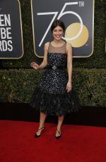 ALESSANDRA MASTRONARDI at 75th Annual Golden Globe Awards in Beverly Hills 01/07/2018
