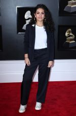 ALESSIA CARA at Grammy 2018 Awards in New York 01/28/2018
