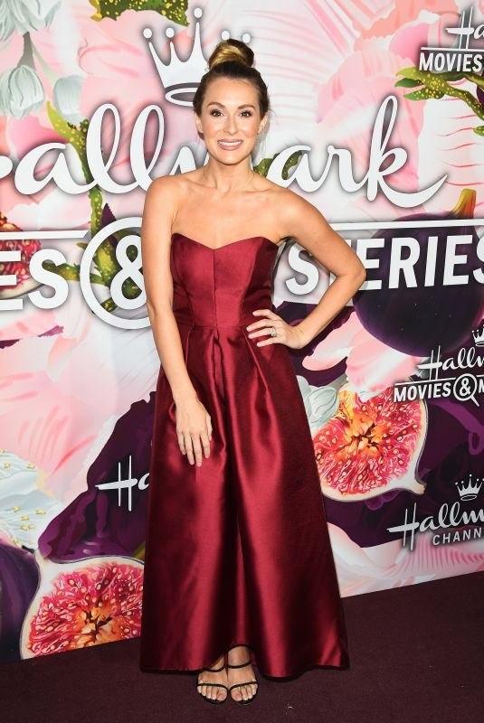 ALEXA VEGA at Hallmark Channel All-star Party in Los Angeles 01/13/2018