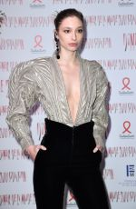 ALEXANDRA AGOSTON at Sidaction Gala Dinner in Paris 01/25/2018