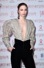 ALEXANDRA AGOSTON at Sidaction Gala Dinner in Paris 01/25/2018