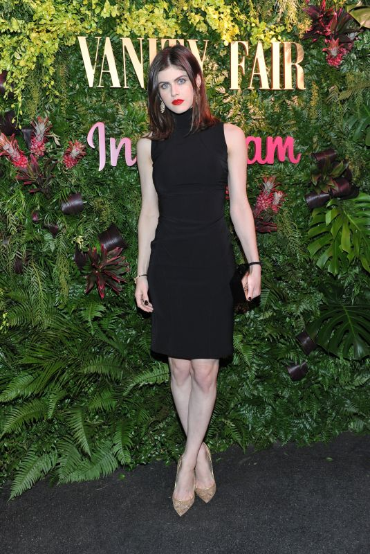 ALEXANDRA DADDARIO at Vanity Fair Celebrate New Class of Entertainers in West Hollywood 01/06/2018