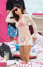 ALEXANDRA RODRIGUEZ in Bikini on the Beach in Miami 01/01/2018