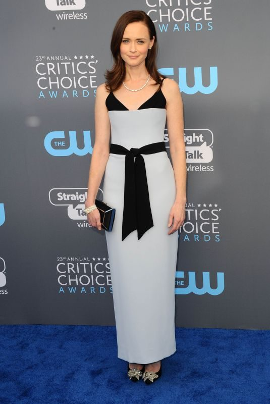 ALEXIS BLEDEL at 2018 Critics' Choice Awards in Santa Monica 01/11/2018