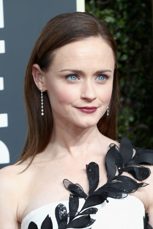ALEXIS BLEDEL at 75th Annual Golden Globe Awards in Beverly Hills 01/07/2018