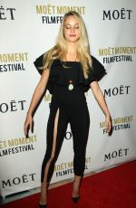 ALEXIS KNAPP at 3rd Annual Moet Moment Film Festival Golden Globes Week in Los Angeles 01/05/2018