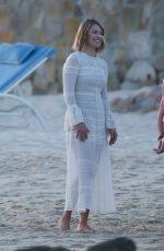 ALI LARTER at a Beach in Cabo San Lucas 01/01/2018