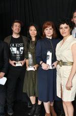 ALIA SHAWKAT at Film Independent Spirit Awards Nominee Brunch in Los Angeles 01/06/2018
