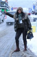 ALICE AMTER Out at Sundance Film Festival in Park City 01/20/2018
