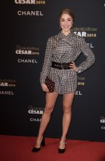 ALICE ISAAZ at Cesar Revelations 2018 at Le Petit Palais in Paris 01/15/2018