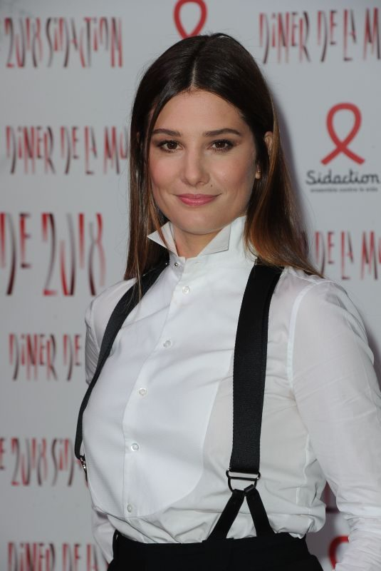 ALICE POL at Sidaction Gala Dinner in Paris 01/25/2018