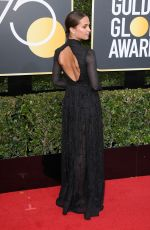 ALICIA VIKANDER at 75th Annual Golden Globe Awards in Beverly Hills 01/07/2018