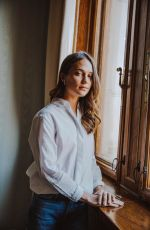 ALICIA VIKANDER on the Set of a Photoshoot in Gothenburg 01/27/2018