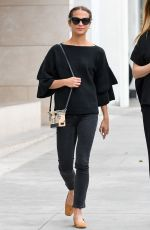 ALICIA VIKANDER Out for Lunch ar E Baldi in Beverly Hills 01/16/2018