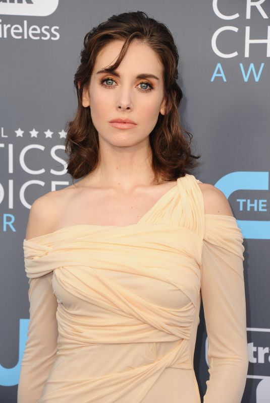 ALISON BRIE at 2018 Critics