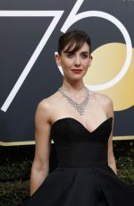 ALISON BRIE at Instyle and Warner Bros Golden Globes After-party in Los Angeles 01/07/2018