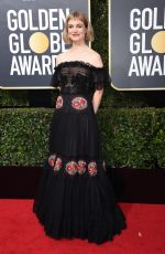 ALISON SUDOL at 75th Annual Golden Globe Awards in Beverly Hills 01/07/2018