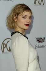 ALISON SUDOL at Producers Guild Awards 2018 in Beverly Hills 01/20/2018