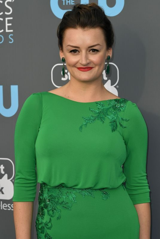 ALISON WRIGHT at 2018 Critics' Choice Awards in Santa Monica 01/11/2018