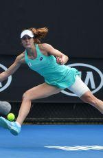 ALIZE CORNET at Australian Open Tennis Tournament in Melbourne 01/15/2018