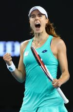 ALIZE CORNET at Australian Open Tennis Tournament in Melbourne 01/17/2018