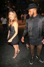 ALLISON HOLKER Leaves Black Panther Premiere in Hollywood 01/29/2018