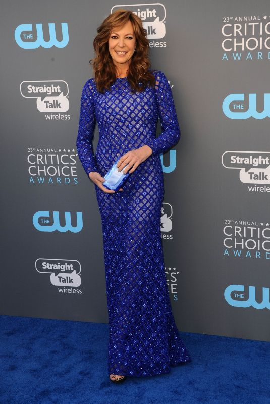 ALLISON JANNEY at 2018 Critics