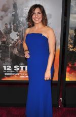 ALLISON KING at 12 Strong Premiere in New York 01/16/2018