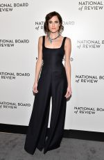 ALLISON WILLIAMS at National Board of Review Annual Awards Gala in New York 01/09/2018