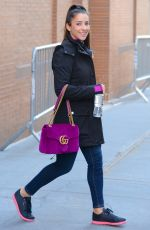 ALY RAISMAN Leaves The View in New York 01/26/2018