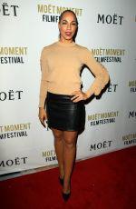 AMANDA BRUGEL at 3rd Annual Moet Moment Film Festival Golden Globes Week in Los Angeles 01/05/2018