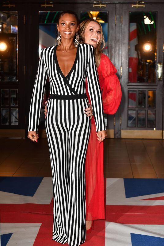 AMANDA HOLDEN and ALESHA DIXON at Britain's Got Talent Photocall in Blackpool 01/16/2018