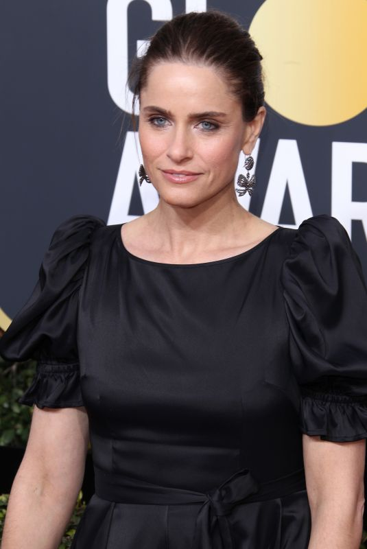 AMANDA PEET at 75th Annual Golden Globe Awards in Beverly Hills 01/07/2018