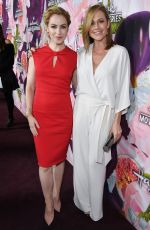 AMANDA SCHULL and NIKKI DELOACH at Hhallmark Channel All-star Party in Los Angeles 01/13/2018