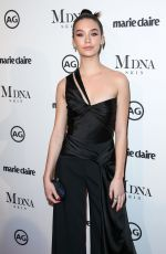AMANDA STEELE at Marie Claire Image Makers Awards in Los Angeles 01/11/2018