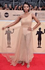 AMANDA WARREN at Screen Actors Guild Awards 2018 in Los Angeles 01/21/2018