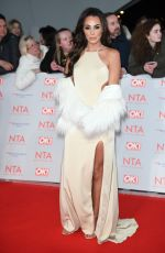 AMBER DOWDING at National Television Awards in London 01/23/2018