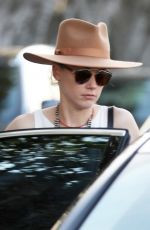 AMBER HEARD Out Shopping in West Hollywood 01/18/2018