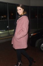 AMBER LE BON Night Out in London 01/30/2018