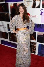 AMBER MARTINEZ at Sreading Darkness Premiere in Los Angeles 01/19/2018