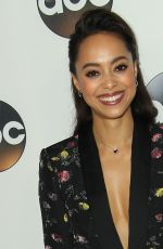 AMBER STEVENS at ABC All-star Party at TCA Winter Press Tour in Los Angeles 01/08/2018