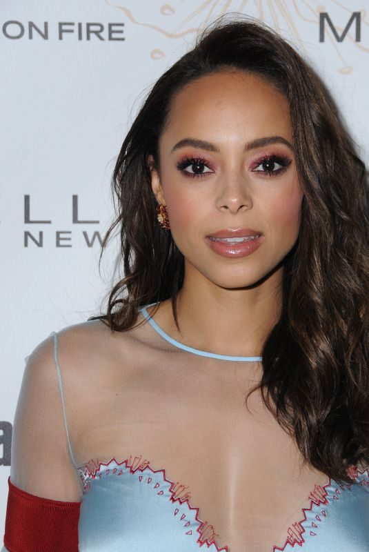 AMBER STEVENS WEST at Entertainment Weekly Pre-SAG Party in Los Angeles 01/20/2018