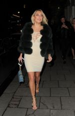 AMBER TURNER Night Out in London 01/20/2018