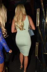 AMBER TURNER Night Out in Manchester 01/27/2018