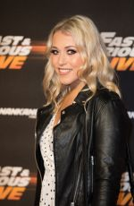 AMELIA LILY at Fast and Furious Live at O2 Arena in London 01/19/2018