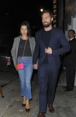 AMELIA WARNER and Jamie Dornan at Soho House VIP Relaunch Party in London 01/18/2018