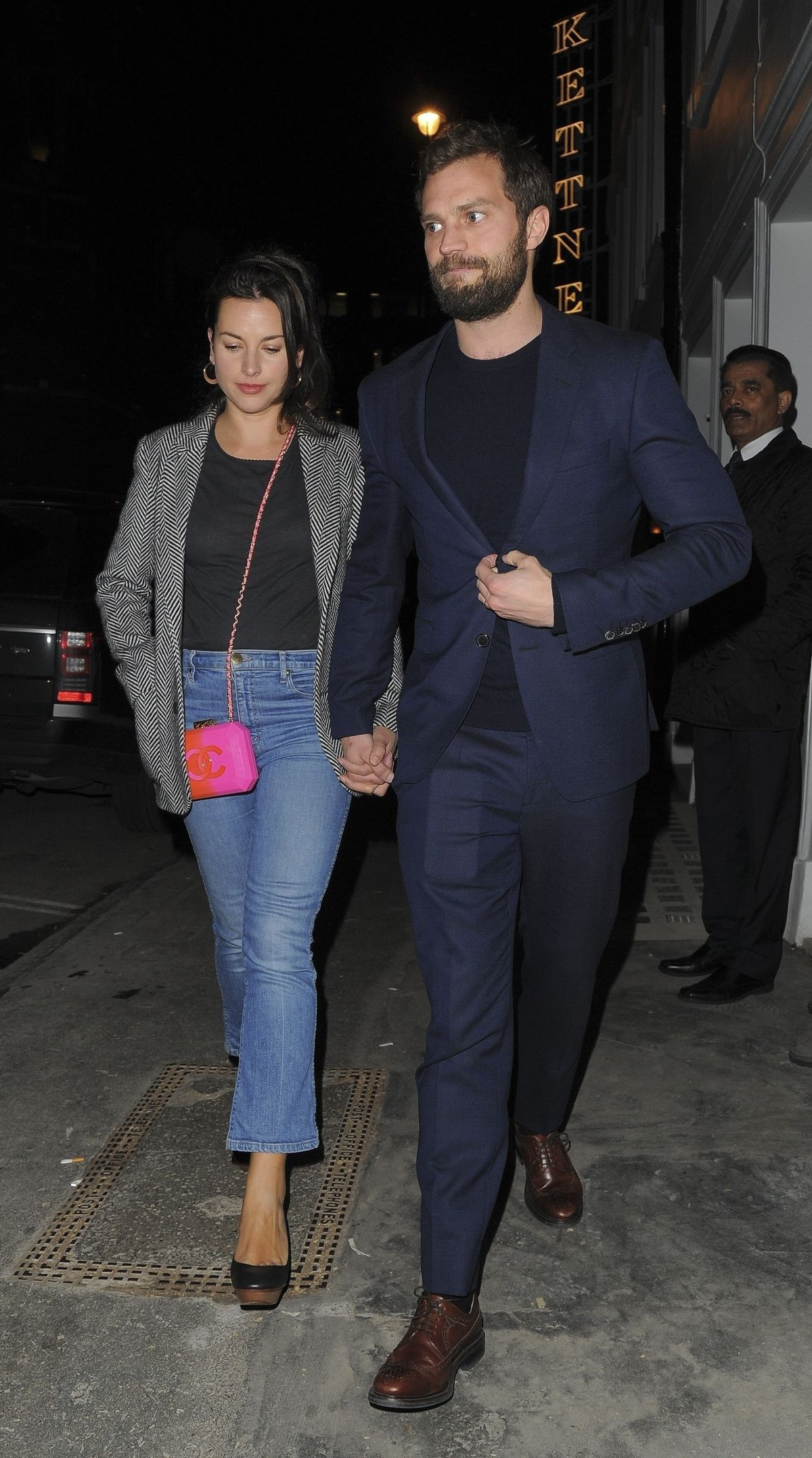 amelia warner and jamie dornan at soho house vip relaunch